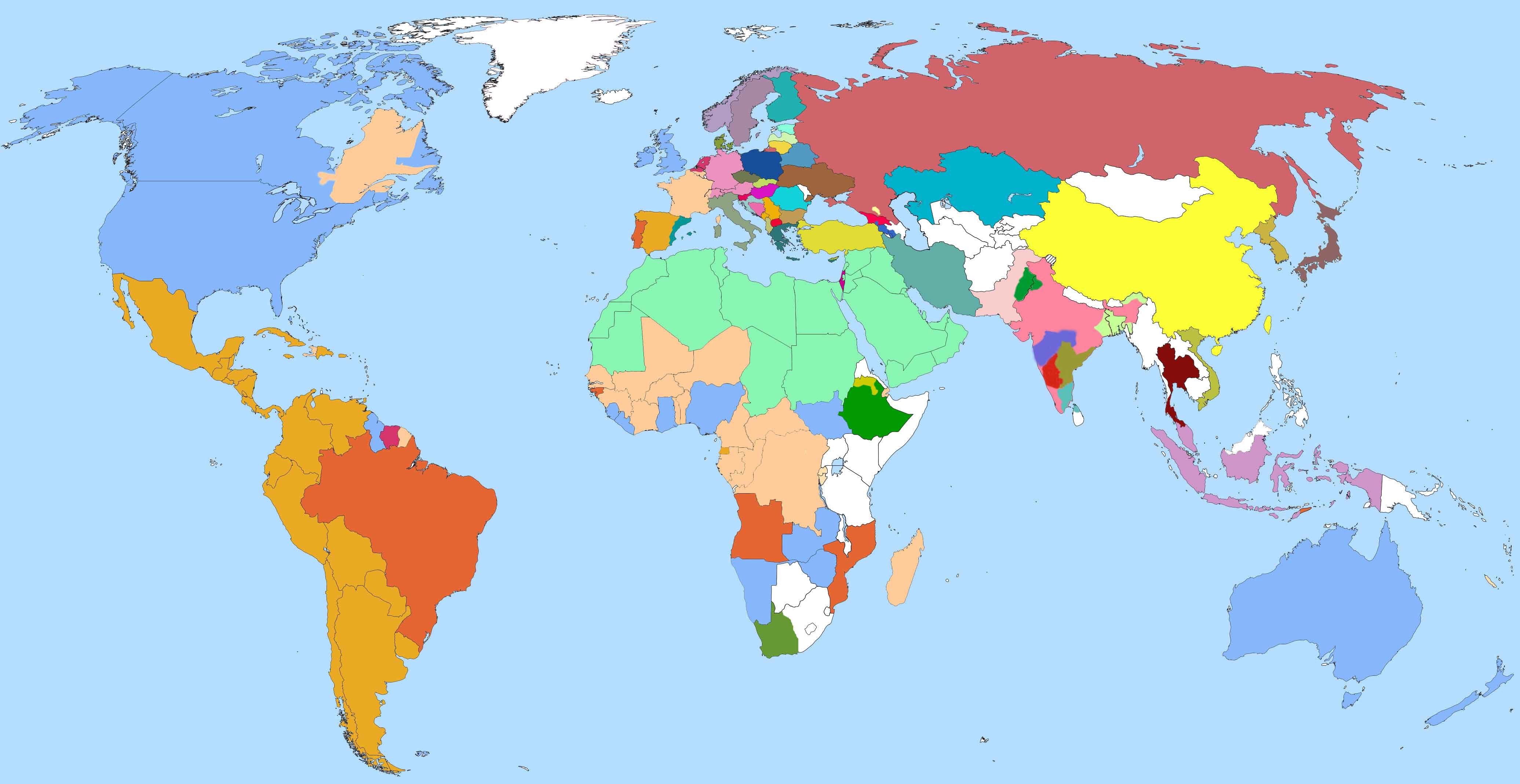 Or choose from our map of world languages.